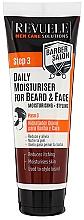Kup Nawilżający krem do brody i twarzy - Revuele Men Care Barber Daily Moisturizer Beard & Face