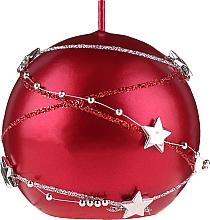 Kup Świeca dekoracyjna, czerwona, 8 cm - Artman Christmas Garland