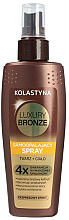 Kup Samoopalający spray do twarzy i ciała - Kolastyna Luxury Bronze Tanning Spray