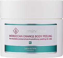 Kup PRZECENA! Krystaliczny peeling do ciała Marokańska pomarańcza - Charmine Rose Moroccan Orange Body Peeling*
