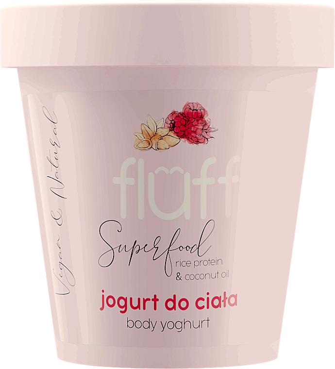 Jogurt do ciała Malina i migdał - Fluff Body Yogurt Raspberries and Almonds