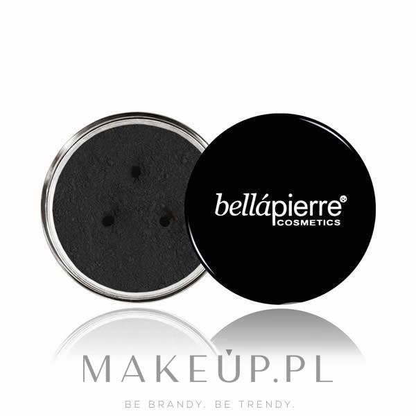 Puder do powiek i brwi - Bellapierre Cosmetics Brow Powder — фото Noir