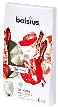 Kup Płatki zapachowe do kominka Pieczone jabłko i cynamon - Bolsius True Moods Get Cosy Baked Apple & Cinnamon