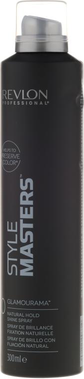 Ultralekki lakier nadający włosom połysk - Revlon Professional Style Masters Shine Spray Glamourama 0 — фото N1