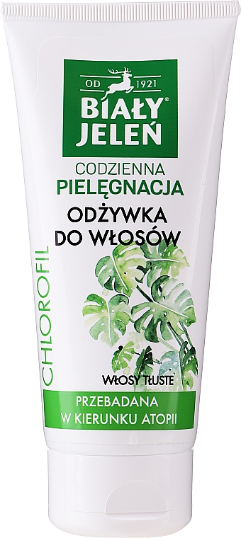 Odżywka do włosów przetłuszczających się - Biały Jeleń Conditioner For Oily Hair