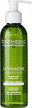 Kup Antybakteryjny żel do mycia skóry tłustej, mieszanej i trądzikowej - Dermedic Normacne Preventi