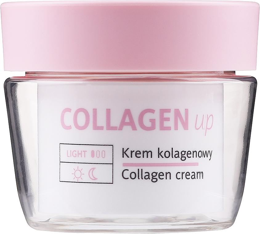 Kolagenowy krem do twarzy 50+ - Floslek Collagen Up Collagen