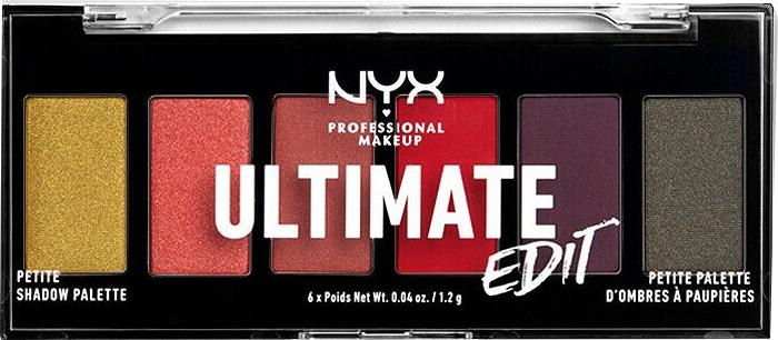 Paletka cieni do powiek - NYX Professional Makeup Ultimate Edit Petite Shadow Palette — фото N6