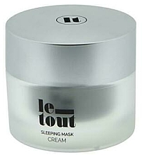 Kup Kremowa maska ​​do twarzy na noc - Le Tout Sleeping Mask Cream Hydrating Treatment