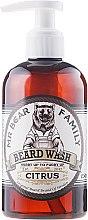 Kup Łagodny szampon do brody Cytrusy - Mr. Bear Family Beard Wash Citrus