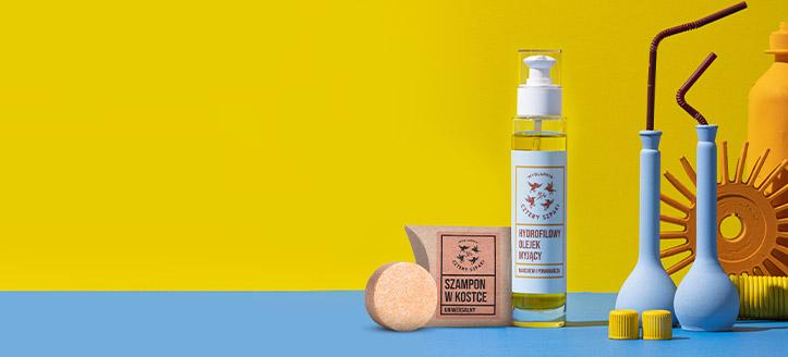 Przy zakupie produktów Cztery Szpaki za min. 69 zł, uniwersalne mydło w kostce do włosów otrzymasz w prezencie.