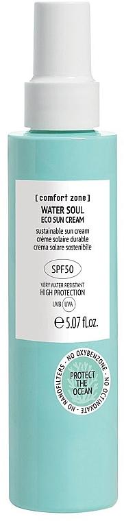 Krem przeciwsłoneczny do twarzy - Comfort Zone Water Soul Eco Sun Cream Spf50 — фото N1