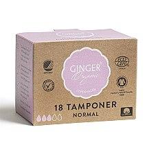 Kup Organiczne tampony bez aplikatora Normal, 18 szt. - Ginger Organic