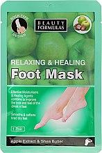 Kup Relaksująca maska do stóp - Beauty Formulas Relaxing And Healing Foot Mask