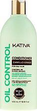 Kup Odżywka do włosów przetłuszczających się - Kativa Oil Control Conditioner