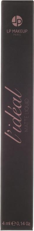 Matowa pomadka w płynie do ust - LP Makeup L'ideal Matte Liquide Lipstick — фото N2