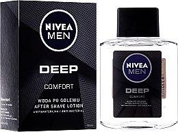 Kup Antybakteryjna woda po goleniu - Nivea Men Deep Comfort After Shave Lotion