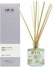 Kup PRZECENA! Patyczki zapachowe - Ambientair Lab Co. Amber & Clove *