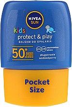 Przeciwsłoneczny balsam dla dzieci SPF 50 - Nivea Sun Care Kids Lotion — фото N1