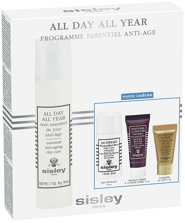 Zestaw - Sisley All Day All Year Discovery Program (f/c/r/50ml+ remover/30ml+f/mask/10ml+f/ser/5ml) — фото N1