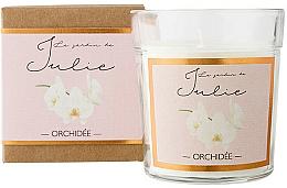 Kup Świeca zapachowa w szkle Orchidea - Ambientair Le Jardin de Julie Orchidee