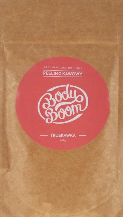 Peeling kawowy Truskawka - BodyBoom Coffee Scrub Strawberry — фото N1