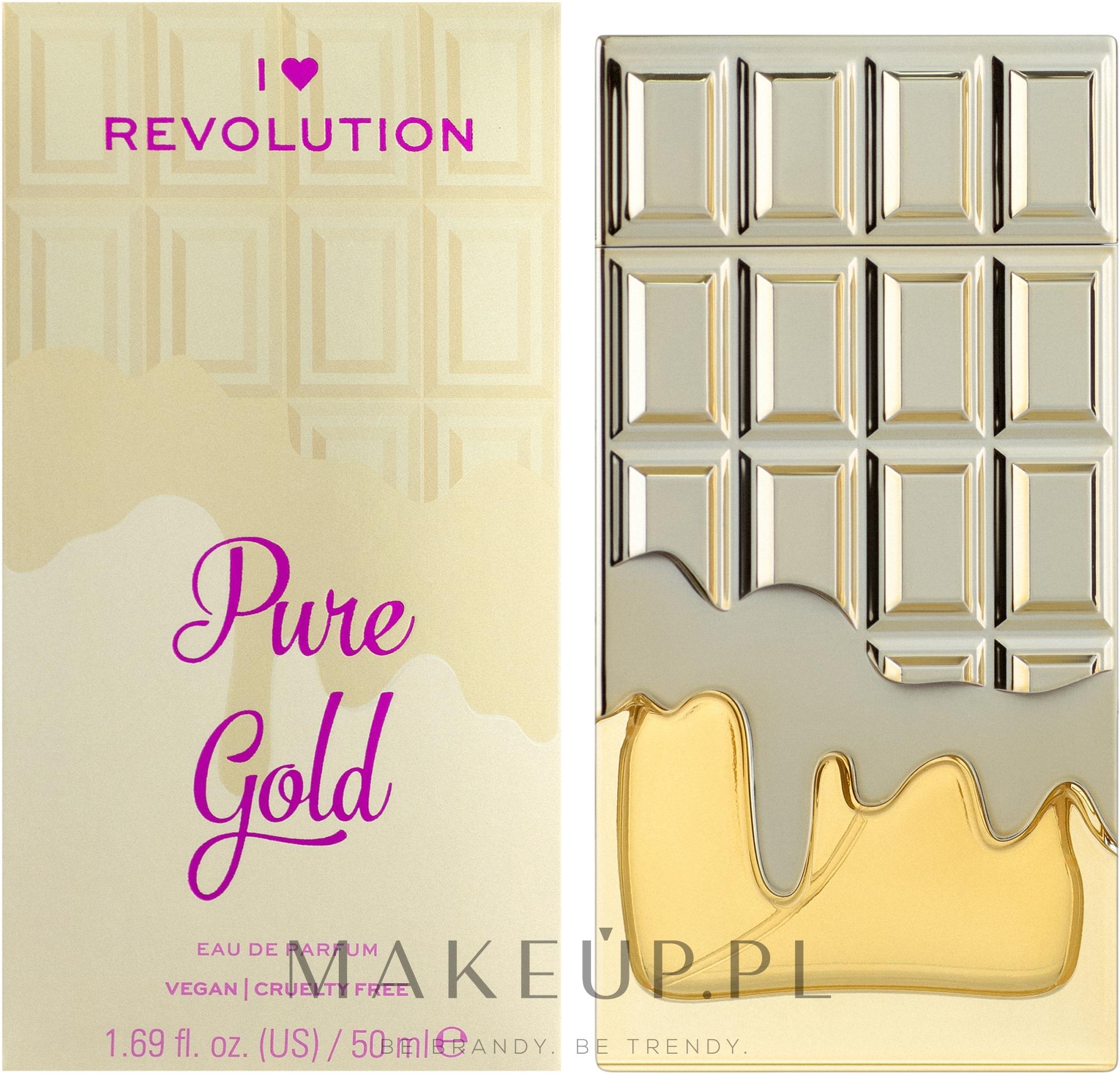 I Heart Revolution Pure Gold - Woda perfumowana — фото 50 ml