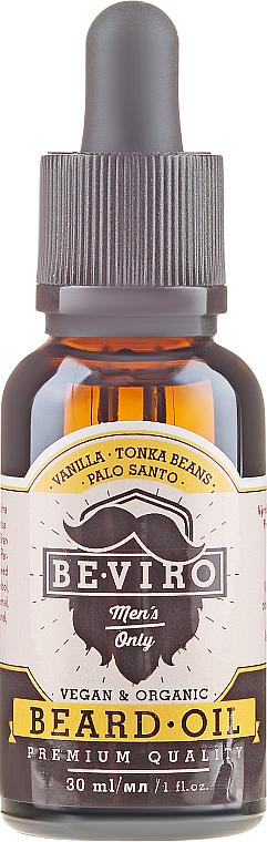 PRZECENA! Olejek do brody - Beviro Beard Oil Vanilla Palo Santo Tonka Boby * — фото N2