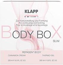 Kup Zestaw do modelowania ciała - Klapp Repagen Body Box Shape (cr 200 ml + b/gel 200 ml)