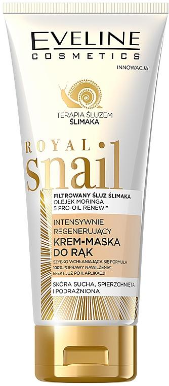 Intensywnie regenerujący krem-maska do rąk - Eveline Cosmetics Royal Snail
