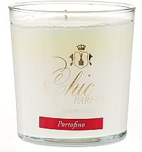 Kup PRZECENA! Świeca zapachowa w szkle - Chic Parfum Luxury Collection Portofino Candle *