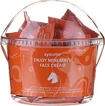 Kup Rewitalizujący krem do twarzy z olejem końskim - Ayoume Enjoy Mini Mayu Face Cream