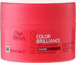 Kup Maska wzmacniająca kolor włosów farbowanych - Wella Professionals Invigo Color Brilliance Vibrant Color Mask Coarse