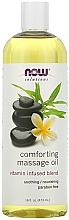 Kup Kojący olejek do masażu - Now Foods Solutions Comforting Massage Oil