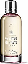 Kup Molton Brown Fiery Pink Pepper Pampering Body Oil - Masło do ciała
