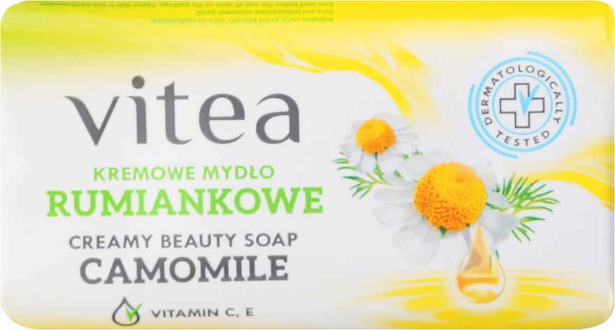 Kremowe mydło rumiankowe - Vitea Cream Soap
