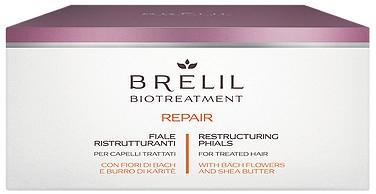 Rekonstruujące ampułki do włosów zmęczonych - Brelil Bio Treatment Repair Restructuring Phials For Treated Hair — фото N1