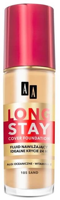 Kryjący fluid nawilżający - AA Long Stay Cover Fluid — фото N1