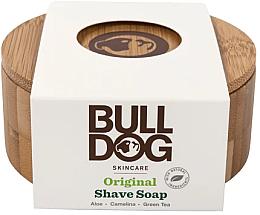 Kup Mydło do golenia w bambusowej mydelniczce - Bulldog Skincare Original Shave Soap In A Bamboo Bowl