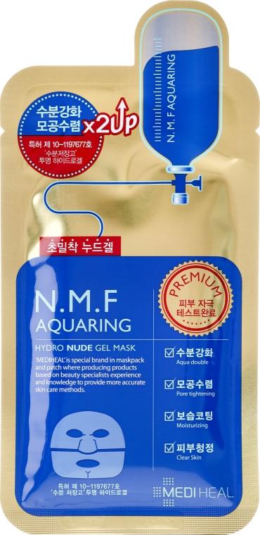 Nawilżająca maska hydrożelowa do twarzy - Mediheal N.M.F Aquaring Hydro Nude Gel Mask
