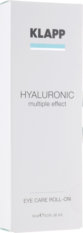 Hialuronowy żel do powiek - Klapp Hyaluronic Eye Roll-On — фото N1