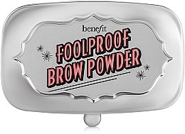Puder do brwi - Benefit Foolproof Brow Powder — фото N1