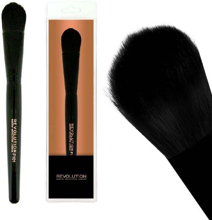 Pędzel do podkład, F101 - Makeup Revolution Foundation Brush