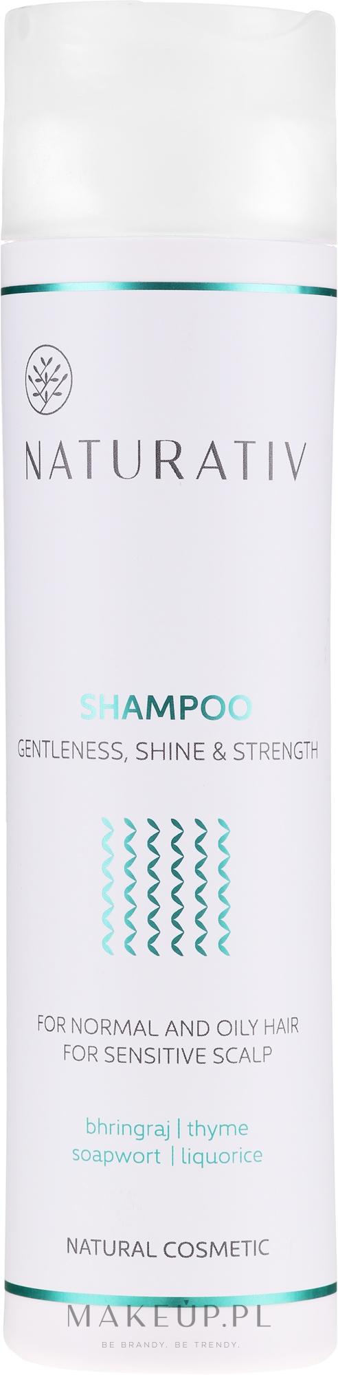 Szampon do włosów Łagodność, blask i wzmocnienie - Naturativ Getleness, Shine & Strength — фото 250 ml