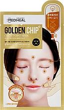 Kup Rozświetlająca maska na tkaninie do twarzy - Mediheal Golden Chip Circle Point Mask