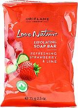 Kup Odświeżające mydło w kostce Truskawka i limonka - Oriflame Love Nature Refreshing Strawberry & Lime Soap Bar