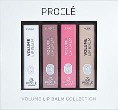 Kup Zestaw balsamów zwiększających objętość ust - Proclé Volume Lip Balm (4 x lip/balm 3,5 g)
