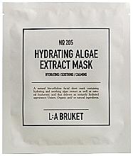 Kup Nawilżająca maska do twarzy z ekstraktem z alg - L:A Bruket No. 205 Hydrating Algae Extract Mask