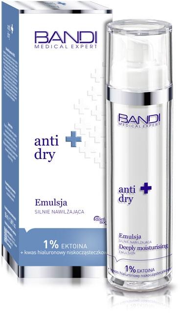 Emulsja silnie nawilżająca do twarzy - Bandi Medical Expert Anti Dry