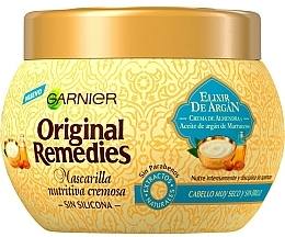 Kup Maska do włosów - Garnier Original Remedies Nourishing Hair Mask Elixir De Argan